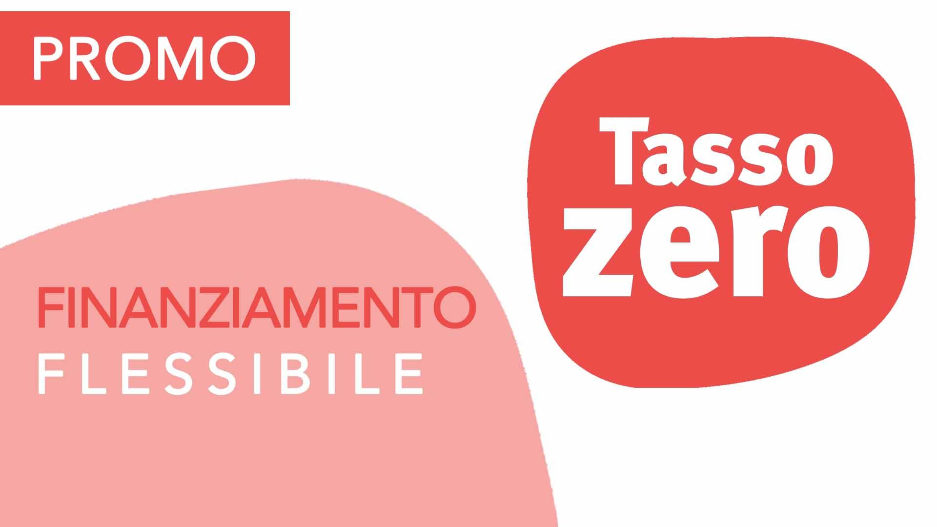 Promo Tasso Zero